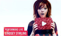 Lindsey Stirling на YouTube Music Awards